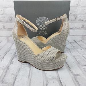 "VINCE CAMUTO ""Tatchen"" Platform Wedge Sandals"